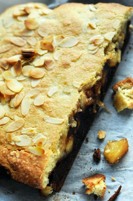Brookies aux amandes